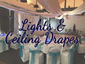 Lighting & Ceiling Drapes