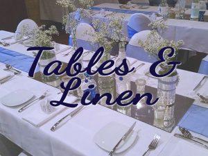 Tables & Linen